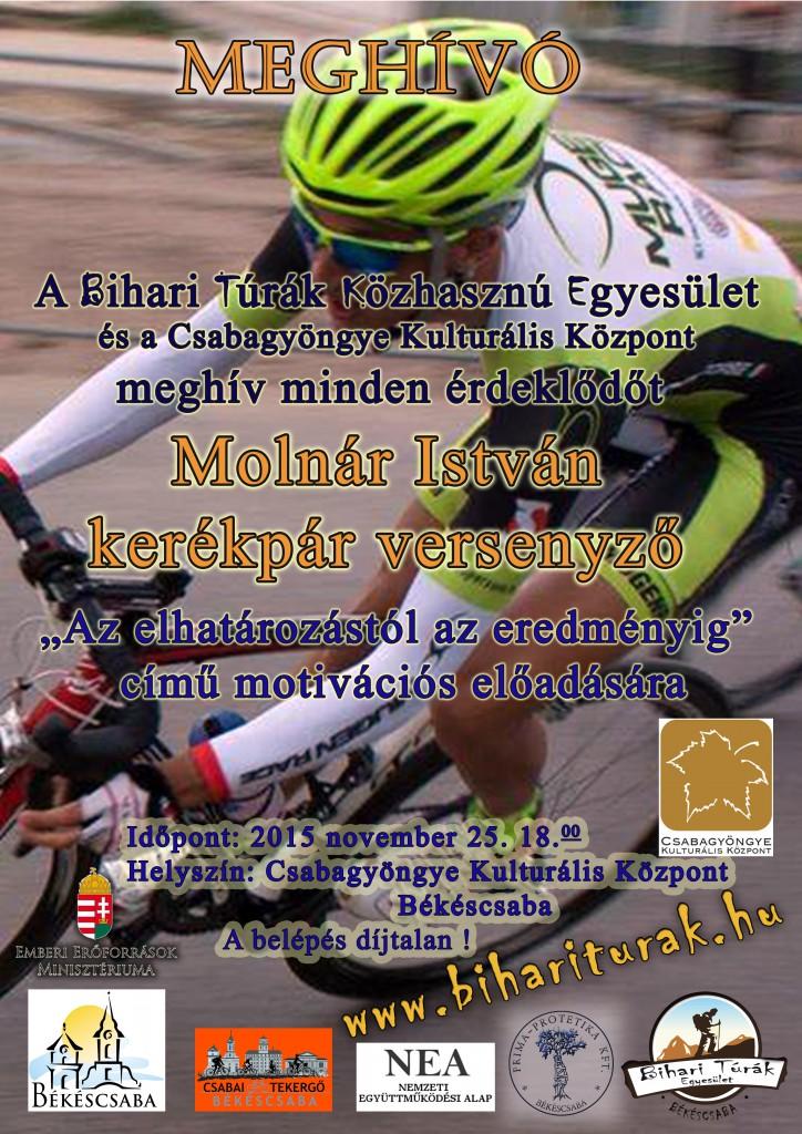 Molnár István előadás plakát